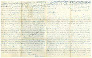 Primary view of [Letter from Helen Duncan]