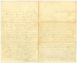 Primary view of [Letter from George Bratney to Mary, December 17, 1875]