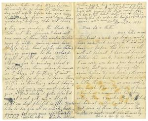 Primary view of [Letter from Dinkie McGee to Sissie and Bettie, June 28, 1878]