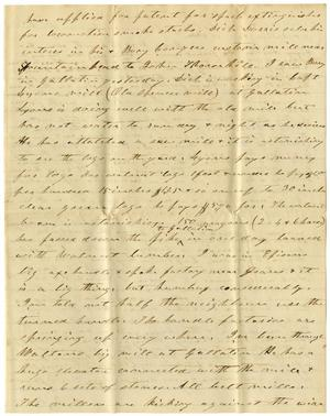 Primary view of object titled '[Letter from C. B. Moore, August 19]'.