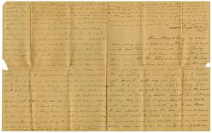 Primary view of [Letter from Laura Jernigan to Cousin Charles and Mary Moore, December 9, 1883]