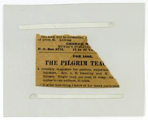 Primary view of object titled '[Poem clipped from newspaper]'.