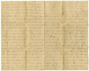 Primary view of object titled '[Letters from J. Sabina Rucker to Charles B. Moore, June 15-16, 1888]'.