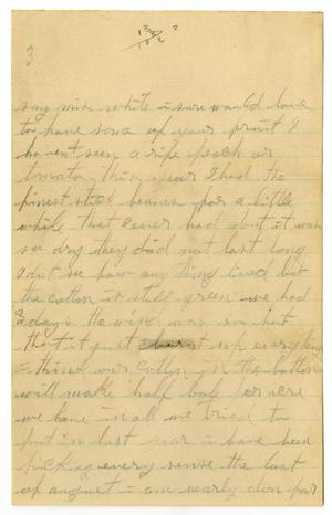 Primary view of [Letter from Iola White, 1909]