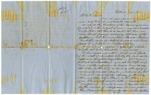 Primary view of [Letter from James B. Moore to Charles B. Moore, July 6, 1853]