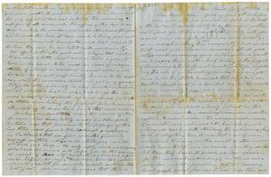 Primary view of [Letter to Moore, July 16, 1853]
