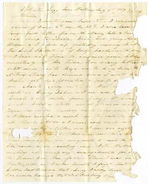 Primary view of object titled '[Letter from Charles B. Moore to Elvira Moore, July 4, 1859]'.