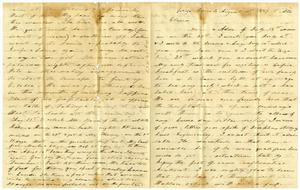 Primary view of [Letter to Elvira Moore, August 10, 1859]