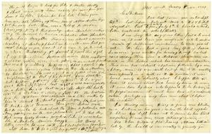 Primary view of [Letter from Littoon to Charles B. Moore, November 6, 1859]