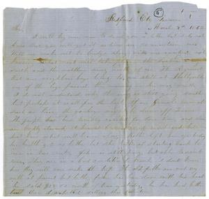 Primary view of [Letter from L. J. Wallace to Jo Wallace, March 9, 1862]