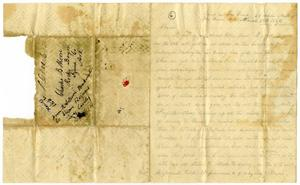 Primary view of [Letter from Henry Moore to Charles Moore, March 13, 1862]