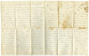 Primary view of [Letter from Elvira Moore to Charles Moore, October 17, 1870]