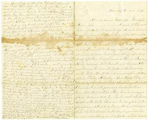 Primary view of object titled '[Letter from Elvira Moore to her family, December 20, 1871]'.