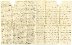 Primary view of [Letter to Elvira Moore, February 16th, 1872]