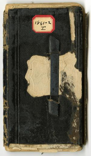 Primary view of [Journal of Josephus C. Moore, May 20, 1861 to September 2, 1862]
