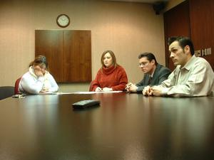 Primary view of object titled '[Telemundo meeting]'.