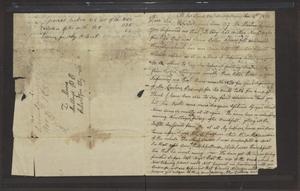 Primary view of [Letter from James Stuart to L. Moore, November 4, 1832]