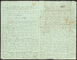 Primary view of [Letter to Charles B. Moore, August 1863]