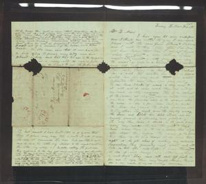 Primary view of [Letter from H. S. Moore to J. and Ziza Moore, February 8, 1850]