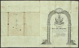 Primary view of [Invitation to a Ball in Honor of General La Fayette]