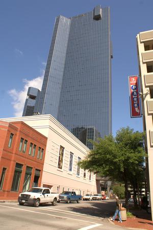 Primary view of object titled '[Downtown Fort Worth]'.