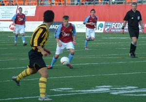 Primary view of object titled '[Soccer match during the Dallas Cup 2005]'.
