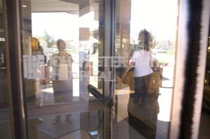 Primary view of object titled '[Revolving door]'.