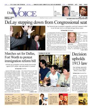 Dallas Voice (Dallas, Tex.), Vol. 22, No. 47, Ed. 1 Friday, April 7, 2006