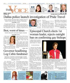 Dallas Voice (Dallas, Tex.), Vol. 23, No. 06, Ed. 1 Friday, June 23, 2006