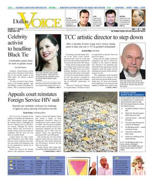 Dallas Voice (Dallas, Tex.), Vol. 23, No. 07, Ed. 1 Friday, June 30, 2006