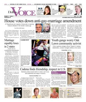 Dallas Voice (Dallas, Tex.), Vol. 23, No. 10, Ed. 1 Friday, July 21, 2006