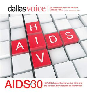 Primary view of object titled 'Dallas Voice (Dallas, Tex.), Vol. 28, No. 7, Ed. 1 Friday, July 1, 2011'.