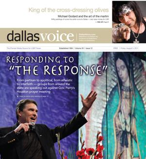 Primary view of object titled 'Dallas Voice (Dallas, Tex.), Vol. 28, No. 12, Ed. 1 Friday, August 5, 2011'.