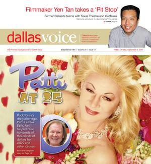 Primary view of object titled 'Dallas Voice (Dallas, Tex.), Vol. 28, No. 17, Ed. 1 Friday, September 9, 2011'.