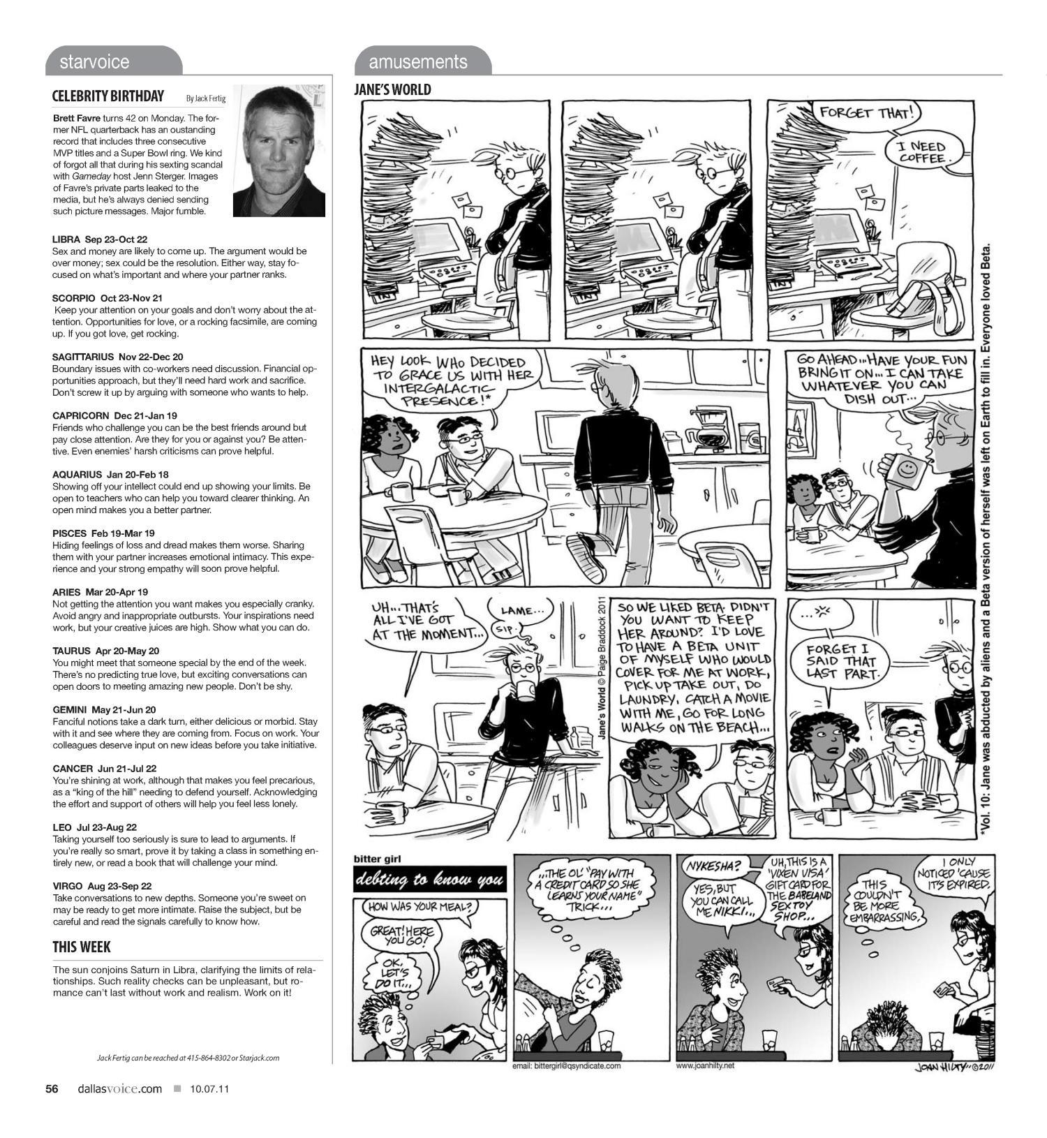 Dallas Voice (Dallas, Tex ), Vol  28, No  21, Ed  1 Friday