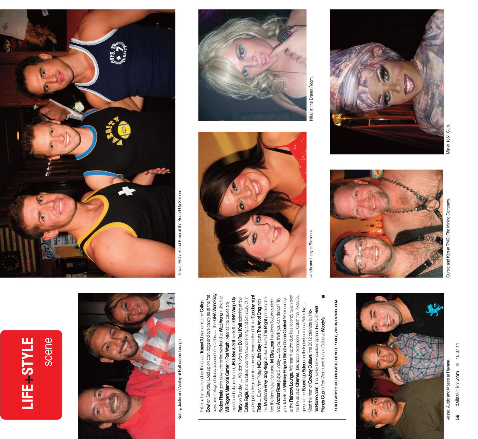 Dallas Voice (Dallas, Tex.), Vol. 28, No. 21, Ed. 1 Friday, October 7, 2011                                                                                                      [Sequence #]: 58 of 68