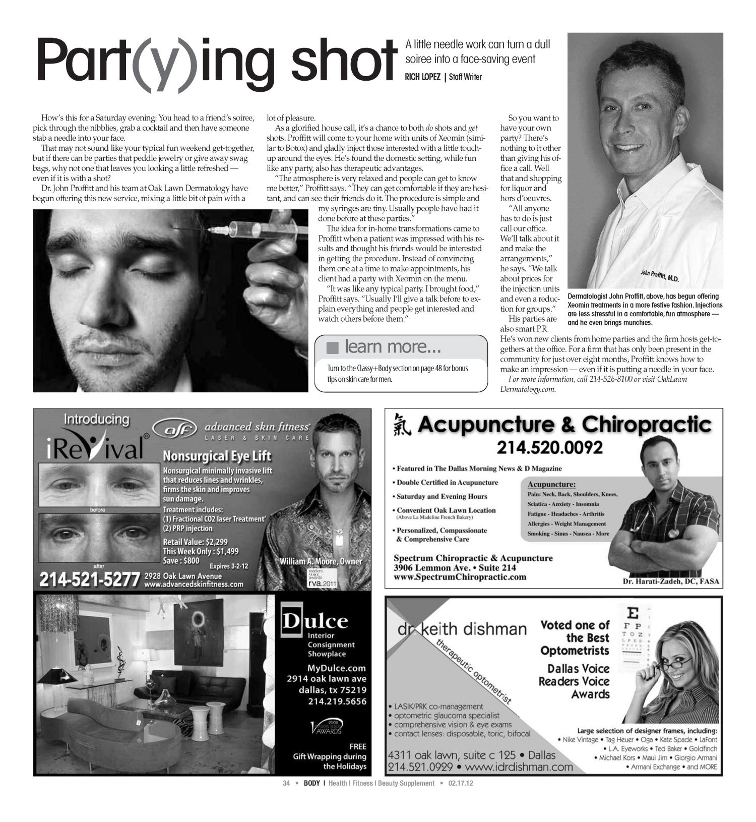Dallas Voice (Dallas, Tex.), Vol. 28, No. 40, Ed. 1 Friday, February 17, 2012                                                                                                      [Sequence #]: 34 of 56