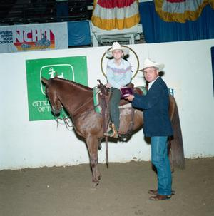 Primary view of object titled 'Cutting Horse Competition: Image 1991_D-139_06'.