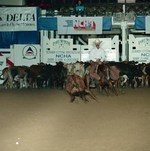 Primary view of object titled '[Cutting Horse Competition: La Chicharra #1]'.