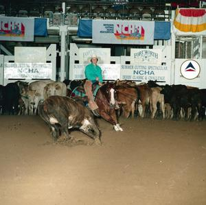 Primary view of object titled '[Cutting Horse Competition: Lil San Benito #2]'.