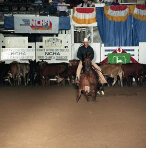Primary view of object titled '[Cutting Horse Competition: Sugs Scorpio #6]'.