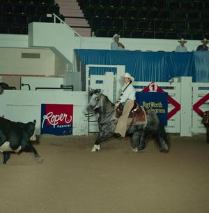 Primary view of object titled 'Cutting Horse Competition: Image 1991_D-73_10'.