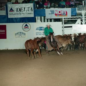 Primary view of object titled 'Cutting Horse Competition: Image 1991_D-87_03'.