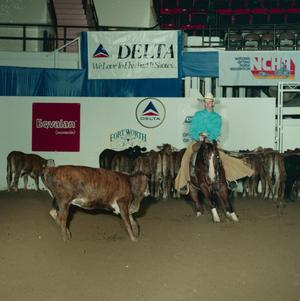 Primary view of object titled 'Cutting Horse Competition: Image 1991_D-94_08'.