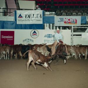 Primary view of object titled 'Cutting Horse Competition: Image 1991_D-96_10'.