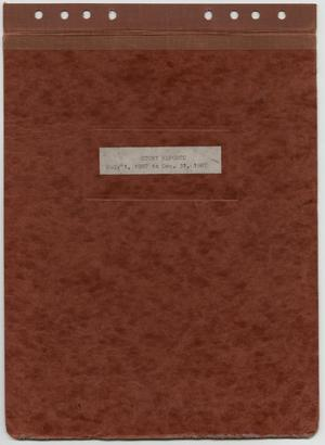 Primary view of object titled '[News Story Log: July 1 to December 31, 1987]'.