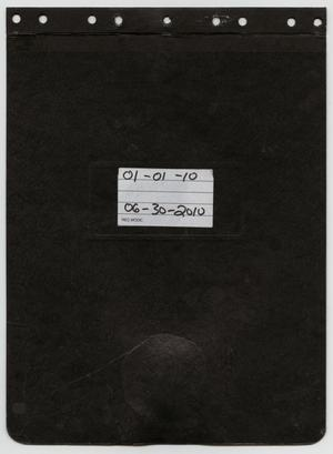 Primary view of object titled '[News Story Log: January 1 to June 30, 2010]'.