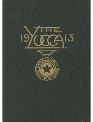 Primary view of object titled 'The Yucca, Yearbook of North Texas State Normal College, 1913'.