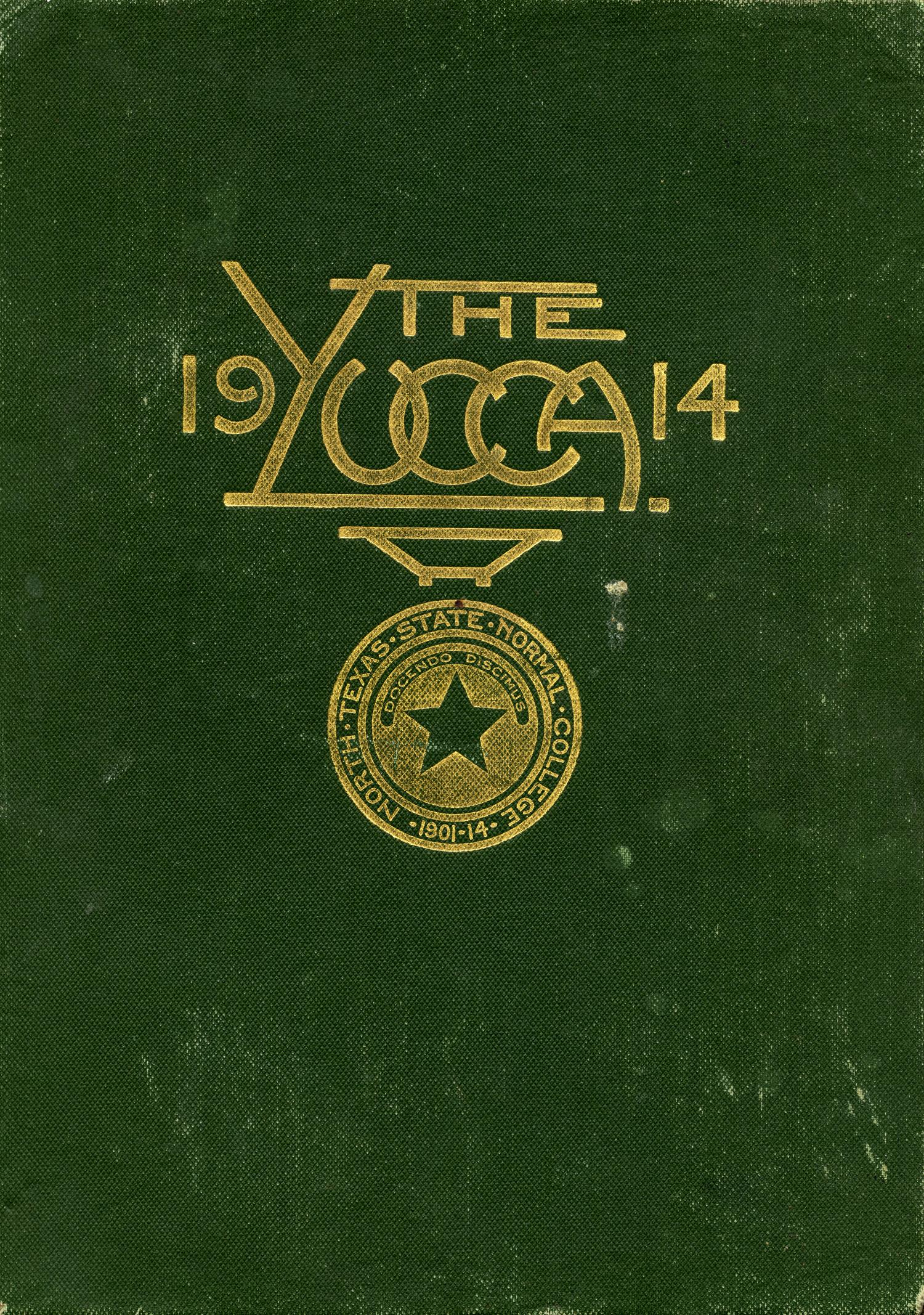 The Yucca, Yearbook of North Texas State Normal School, 1914                                                                                                      Front Cover