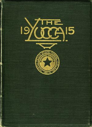 Primary view of object titled 'The Yucca, Yearbook of North Texas State Normal School, 1915'.